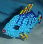 Бисерная Рыбка своими руками
