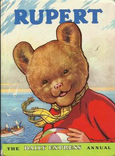 loved Rupert the Bear and his terrible checked trousers