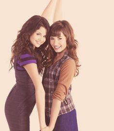 Selena Gomez and Demi Lovato Demi Lovato, Camp Rock, Selena Gomez, Alex Russo, Princess Protection Program, Divas, Selena And Taylor, Look At Her Now, Marie Gomez