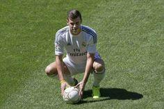 Gareth Bale in the Santiago Bernabéu.