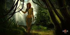 SoKala traverse les Terres de Morph à la rencontre de Tahuetan #heroicfantasy #epicfantasy