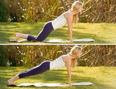Plank with Wrist Flex