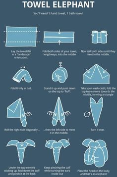 12 Folding Tutorials You Should Know About, DIY and Crafts, Shares These towel elephants are so adorable. They will be great for home decoration or for baby shower gifts. These cute towel elephants are easy to . Diy Para A Casa, Baby Shower Gifts, Baby Gifts, Baby Shower Diapers, Towel Origami, Easy Origami, Bebe Shower, Baby Dekor, Towel Animals