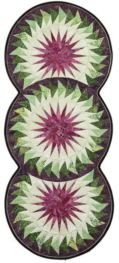 Seasonal Table Runner, Quiltworx.com, Made by CI Lea Marty