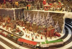 The Reading Terminal Holiday Railroad Returns To The Historic Market For The 2013 Season, Friday, November 29>> across Market Street from Macy's, where you can see the light show and walk through the DIckens' Village
