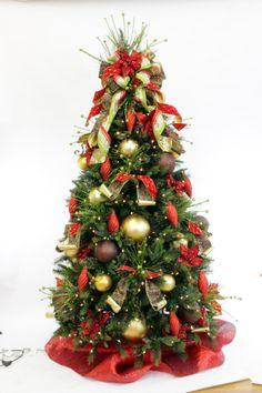 Christmas Gone Wild Tree Theme