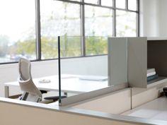 2012 modern office design trends -- frameless glass