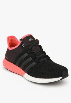 29371e6f2199 Buy Adidas Cc Gazelle Boost Black Running Shoes Online - 5385580 - Jabong