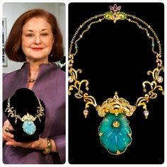 """Paula Crevoshay's mind-blowing works will be on display at the Carnegie Museum of Natural History starting April Crevoshay, who has created a plethora of aquatic-inspired jewels, is seen here holding her """"Ocean's Consciousness"""" Contemporary Jewellery Designers, Jewelry Illustration, Mind Blown, Gemstone Jewelry, Wedding Styles, Vibrant Colors, Surfing, Give It To Me, Jewelry Design"""