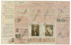 James Joyce's wartime family passport