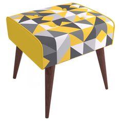 Banqueta Triângulos Amarelos