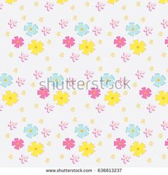 Floral colorful pattern.Perfect design for posters, cards, textile, web pages.
