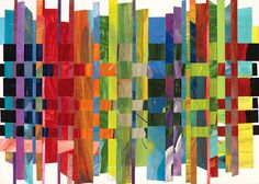 Look At This Beautiful Woven Collage From Shared Lives Studios In Maumee OH
