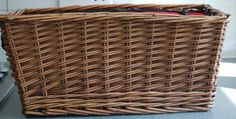 Insulated Picnic Basket, £15.00 by Next Chapter:  This super picnic wicker basket has never been used and is in superb condition. It was made for the Queens Diamond Jubilee celebrations and as we remember that summer was a bit of a washout! The basket is insulated so keeps hot food warm and cold food cold. It has a carrying strap which is adjustable and the lid has a zip fastening. Dimensions are L44cm D24cm H19cm 1.7kg