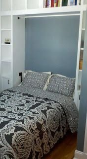 House to Home: Murphy Bed in home office