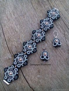 Hobby to Business – Marketing Your Crystal Jewelry Soutache Bracelet, Soutache Jewelry, Beaded Jewelry, Handmade Jewelry, Jewelry Design Earrings, Art Deco Jewelry, Shibori, Egyptian Jewelry, Egyptian Art