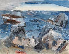 Bathers, 1932, by John Marin