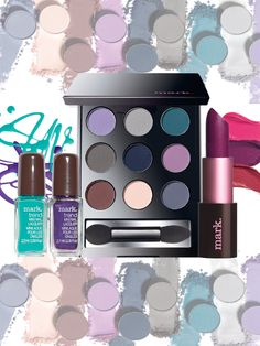 New matte makeup by @markgirl! Limited-edition shimmer and shine-free shades for nails, eyes and lips #AvonRep