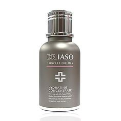 Dr. IASO Hydrating Concentrate - For Men by Dr. IASO. $32.00. The ultimate hydrating treatment to easily moisturize men's skin. Highly concentrated ingredients balance the skin's moisture level, leaving the skin comfortable and vivid. It will enhance the initial level of moisture the skin is able to maintain; therefore, fundamental treatment increases the hydration level and refreshes the dryness of the skin. Water-moist film naturally circulates air without interfering with s...
