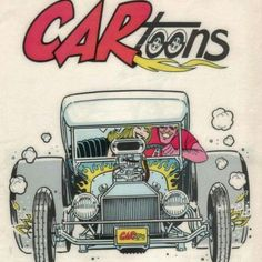 I loved this magazine wish they still printed it I would buy it. Cartoon Car Drawing, Cartoon Rat, Cool Car Drawings, Art Drawings, Cartoons Magazine, Cars Coloring Pages, Car Posters, Kustom Kulture, Lowbrow Art