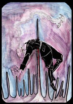 King of wands - Heydrich Tarot by Hello Heydi