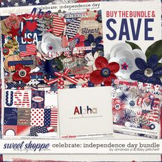 Celebrate: Independence Day Bundle by Amanda Yi & Libby Pritchett