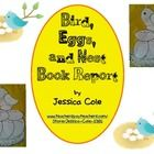 Chirp, Chirp, its time for a book report!!! Perfect for a spring or summer book report.  Students will build a birds nest with information filled ...