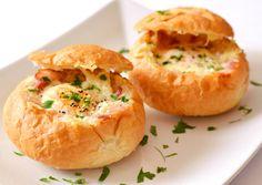 Reggeli tojásos-baconos zsemle | Nor receptje - Cookpad receptek