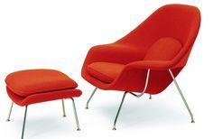 Saarinen, Womb Chair, 1948, ©Knoll EERO SAARINEN : UNE ÉLÉGANCE DISCRÈTE ET FLUIDE