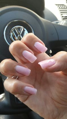 Strawberry French Gel overlays..loving the natural look!