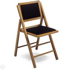 LS4 | Klappstuhl Mit Gepolstertem Sitz