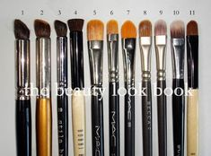 A Week of Beauty Tools & Essentials: Eye Brushes | The Beauty Look Book