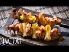 Sweet and irresistible chicken and scallion skewers (negima), you can enjoy this simple yakitori recipe on a grill or with an oven.