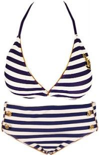 Got to have a bikini if this is a nautical theme!