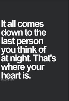 Looking for the best quotes about true love for him? These passionate love quotes for him will guide you in sharing your true feelings in a meaningful sweet way. Cute Quotes, Great Quotes, Words Quotes, Quotes To Live By, Inspirational Quotes, Funny Quotes, Quotes About Night, Quotes About Kissing, Remember Me Quotes