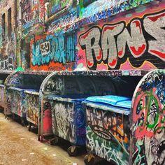 Melbourne street art graffiti