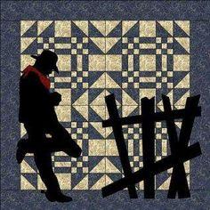Silhouette quilt
