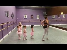 3 year old ballet class - YouTube