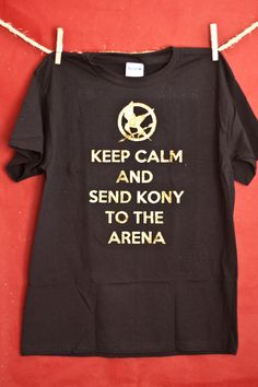 Stop Kony inspired Hunger Games shirt by BouncyBumbleBoutique, $20.00