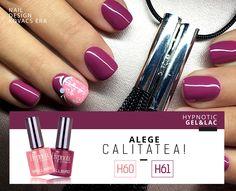 Hypnotic Gel&Lac Fashion Colors www. Fashion Colours, Gel Polish, Nail Designs, Lipstick, Beauty, Colors, Check, Lipsticks, Gel Nail Varnish