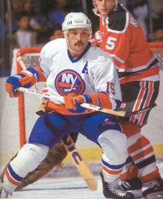 BRYAN TROTTIER: The former center holds the league record for points in a single period at six, when he scored four goals and tallied two assists against the New York Rangers during a tilt in - 100 greatest players in NHL history - October 2016 Henri Richard, Ice Hockey Teams, Sports Teams, Sports Personality, Carolina Hurricanes, New York Islanders, Sports Figures, National Hockey League, New York Rangers