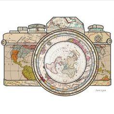 Capturer le monde.