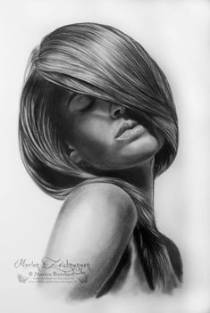 Love the mood of this drawing... and, of course, THE HAIR!! I so wanna draw something like this...