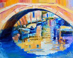 Nikita Manokhin, 1989 | Cuchillo de paleta de pintor | Tutt'Art @