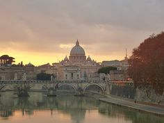St Peter's over the Tiber, Rome