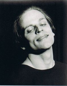 Portrait of Klaus Kinski, 1950s