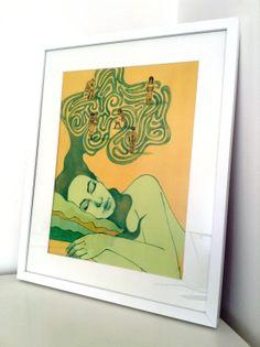 Dreaming Original art print by BeautyFliesAround on Etsy, €20.00