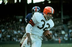 Jim Brown - speed and power....no one like him...ever