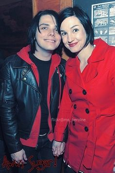 Gerard way and Lindsey way