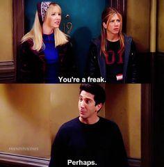 Ross, Rachel, and Phoebe